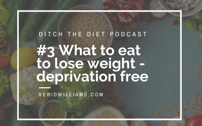 #3 What to eat to lose weight? Plus joy eats and deprivation free weight loss